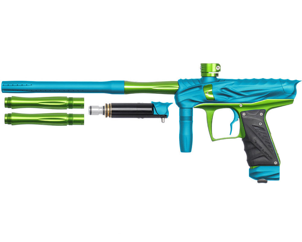 Bob Long Reptile VIS Paintball Gun - Dust Teal/Lime