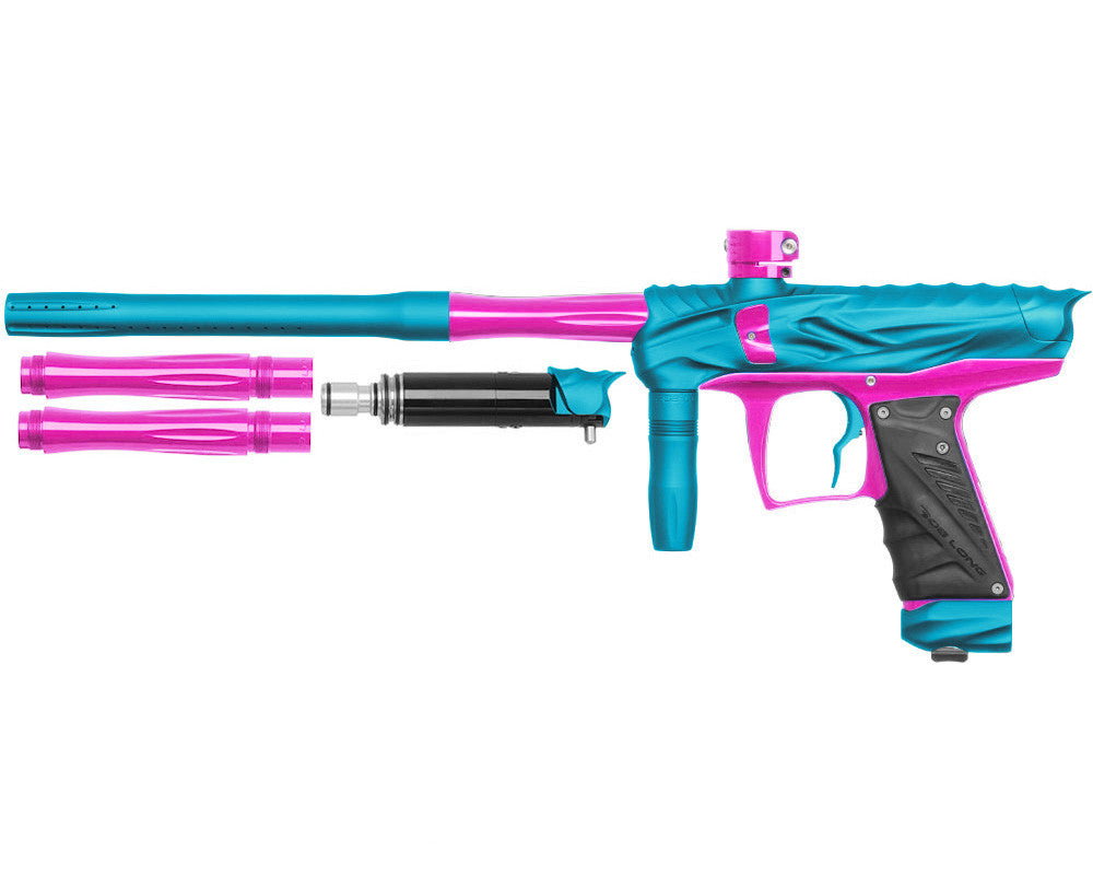 Bob Long Reptile VIS Paintball Gun - Dust Teal/Pink