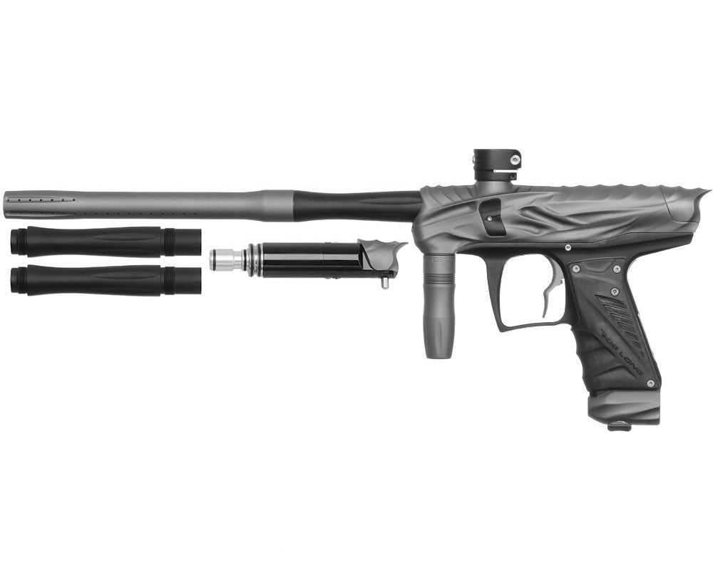 Bob Long Reptile VIS Paintball Gun - Dust Titanium/Dust Black