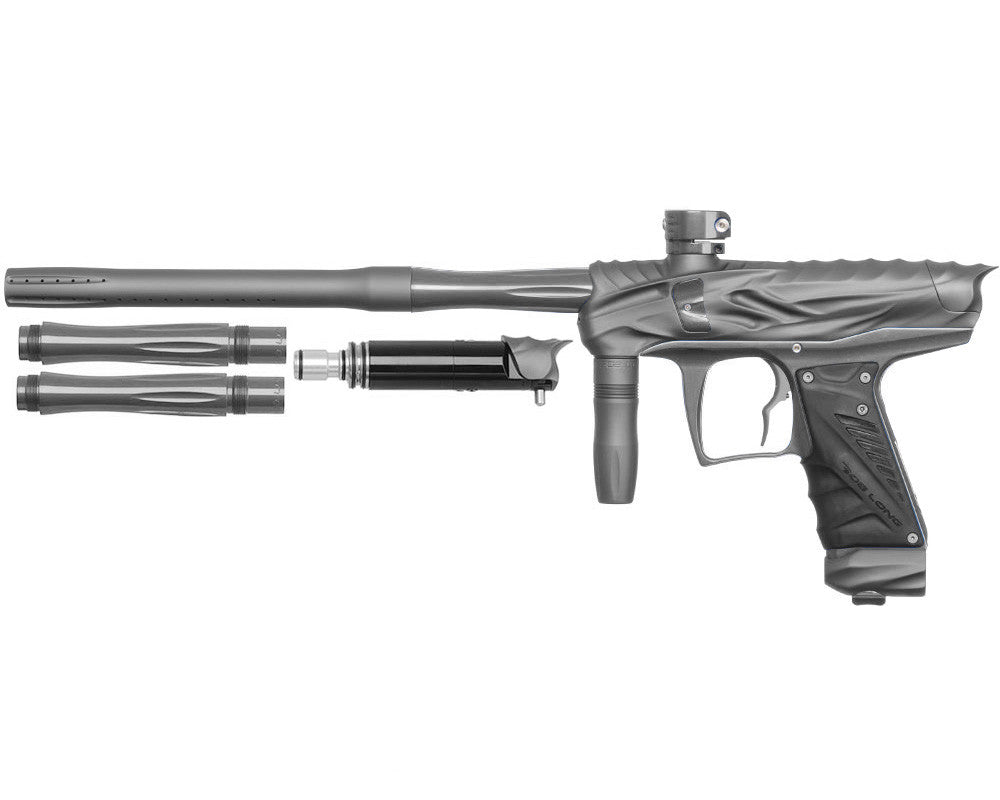 Bob Long Reptile VIS Paintball Gun - Dust Titanium/Titanium