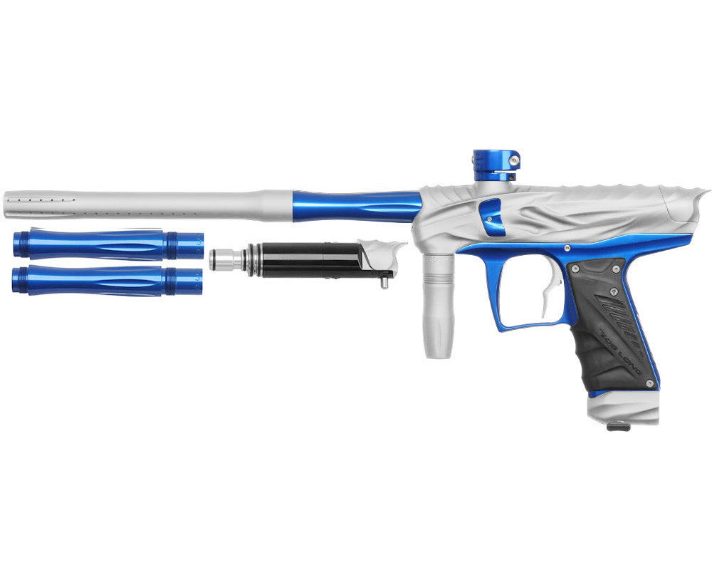 Bob Long Reptile VIS Paintball Gun - Dust White/Blue