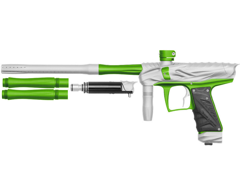 Bob Long Reptile VIS Paintball Gun - Dust White/Dust Lime