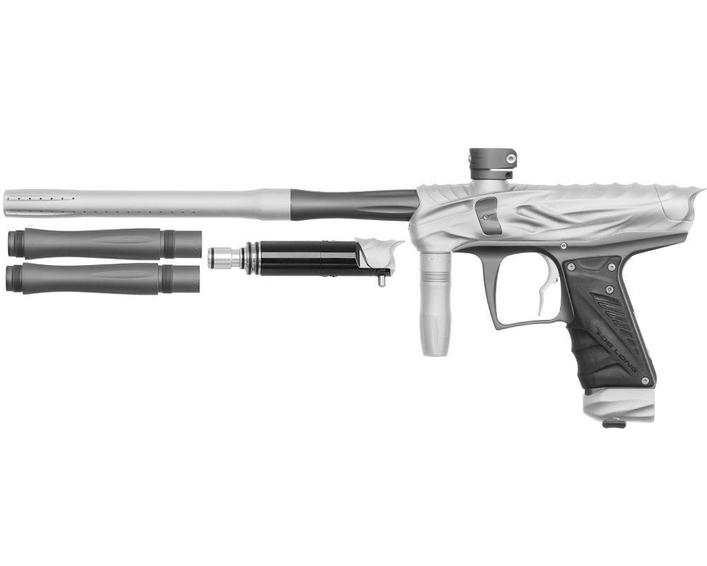 Bob Long Reptile VIS Paintball Gun - Dust White/Dust Titanium