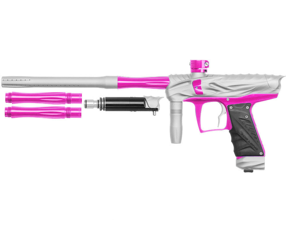 Bob Long Reptile VIS Paintball Gun - Dust White/Pink