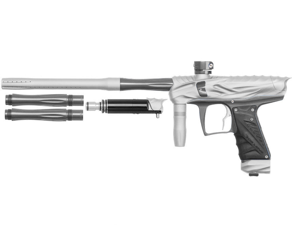 Bob Long Reptile VIS Paintball Gun - Dust White/Titanium