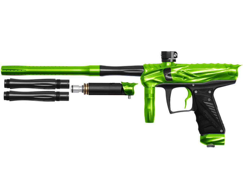 Bob Long Reptile VIS Paintball Gun - Lime/Black