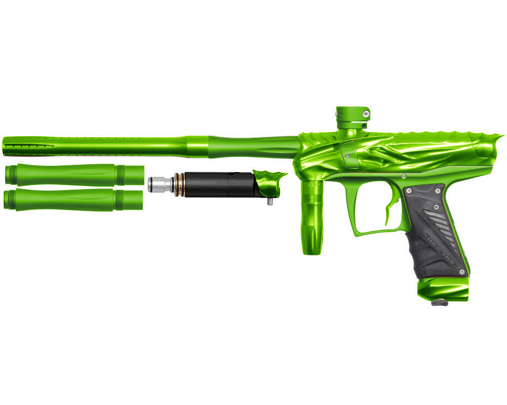 Bob Long Reptile VIS Paintball Gun - Lime/Dust Lime