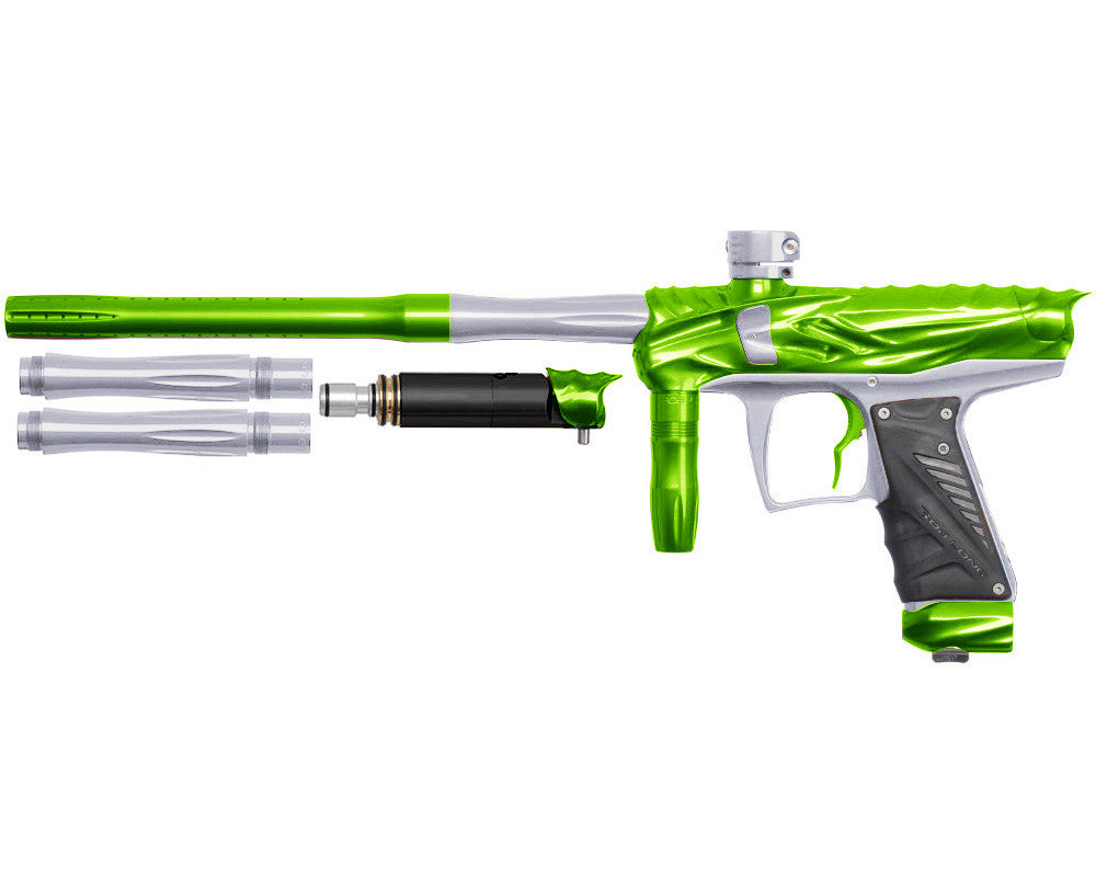 Bob Long Reptile VIS Paintball Gun - Lime/Silver