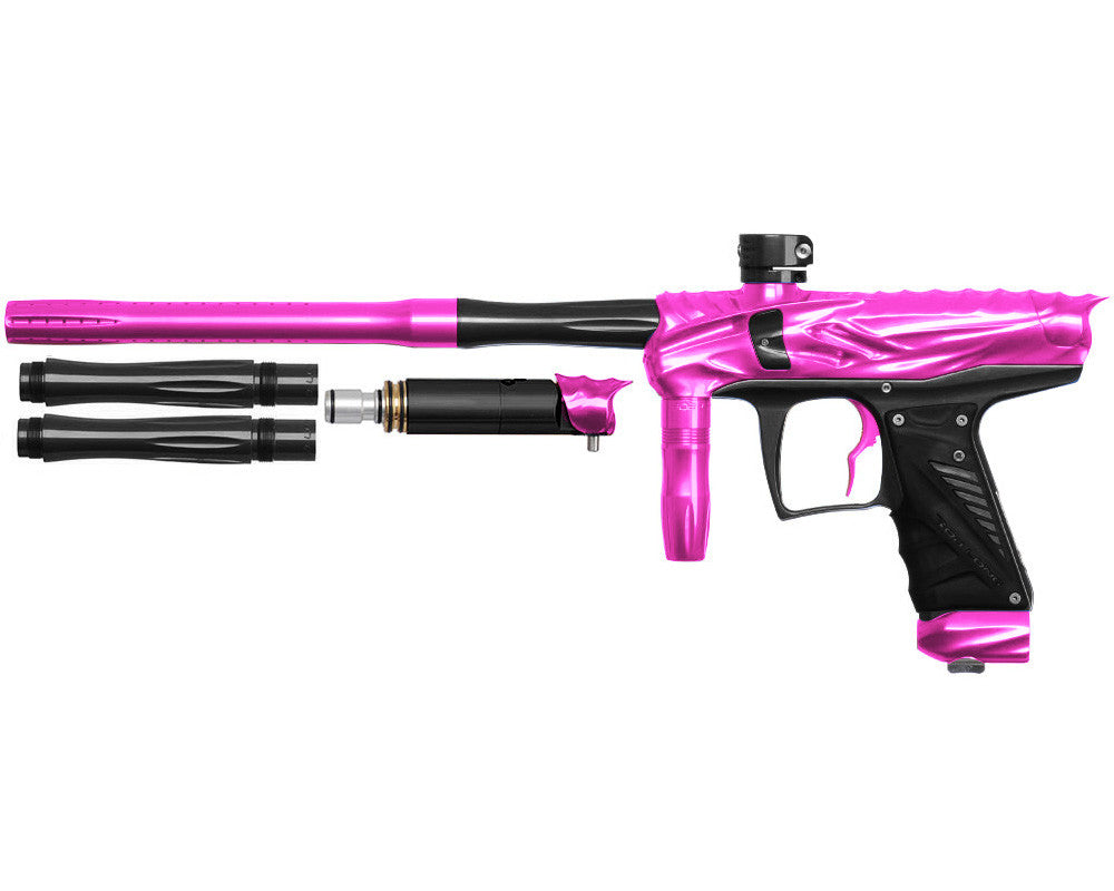 Bob Long Reptile VIS Paintball Gun - Pink/Black