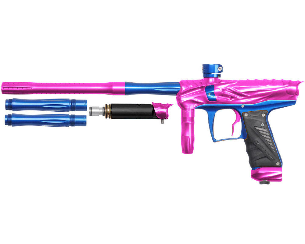 Bob Long Reptile VIS Paintball Gun - Pink/Blue