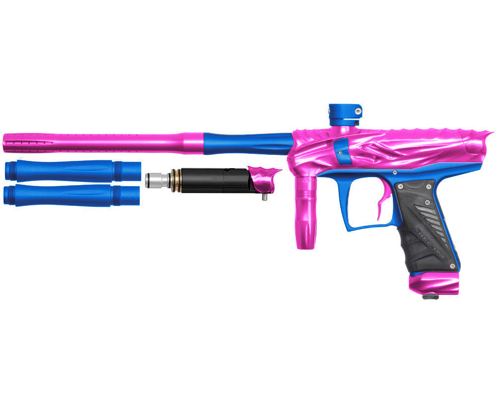 Bob Long Reptile VIS Paintball Gun - Pink/Dust Blue