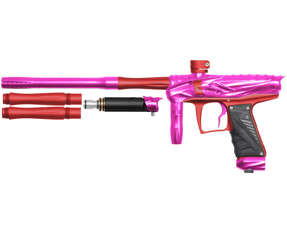 Bob Long Reptile VIS Paintball Gun - Pink/Dust Red