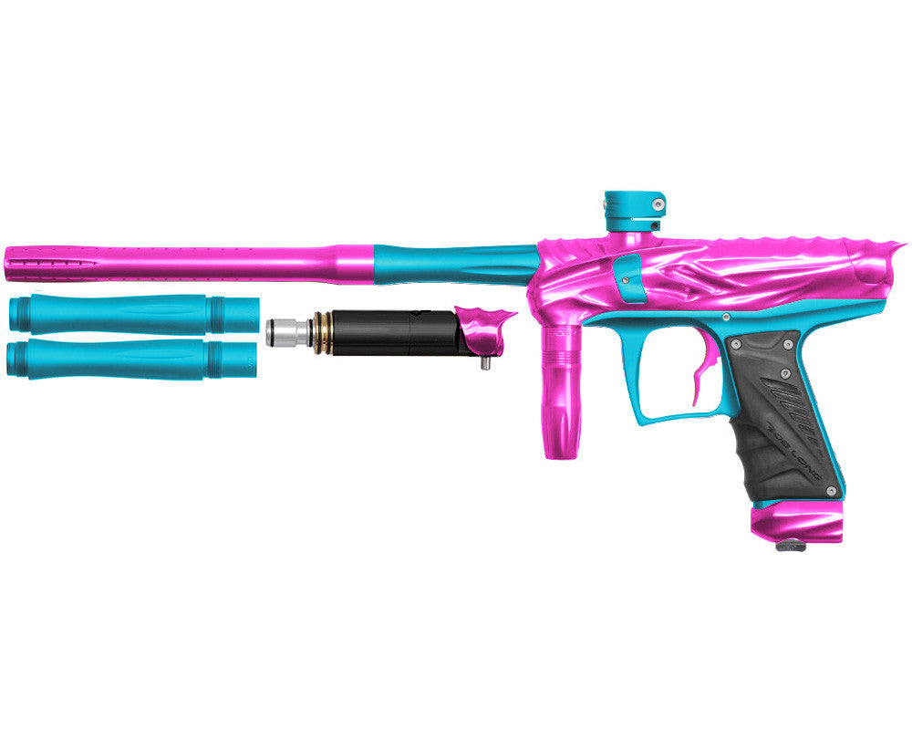 Bob Long Reptile VIS Paintball Gun - Pink/Dust Teal