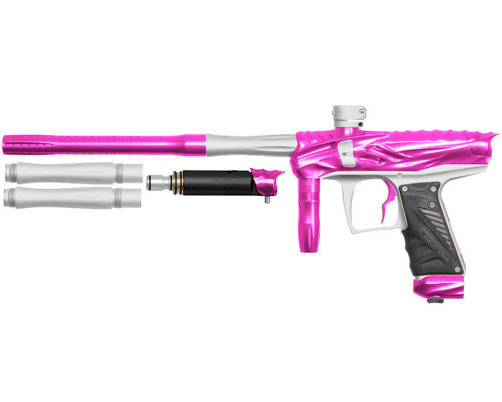 Bob Long Reptile VIS Paintball Gun - Pink/Dust White