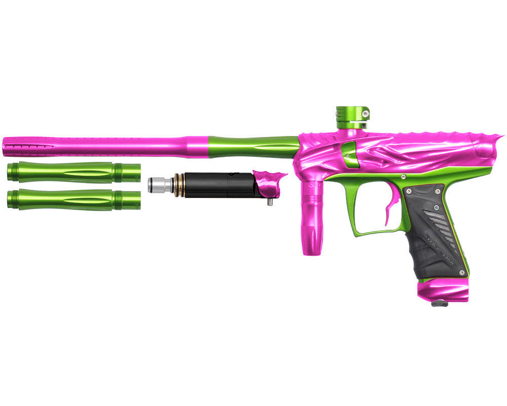 Bob Long Reptile VIS Paintball Gun - Pink/Lime