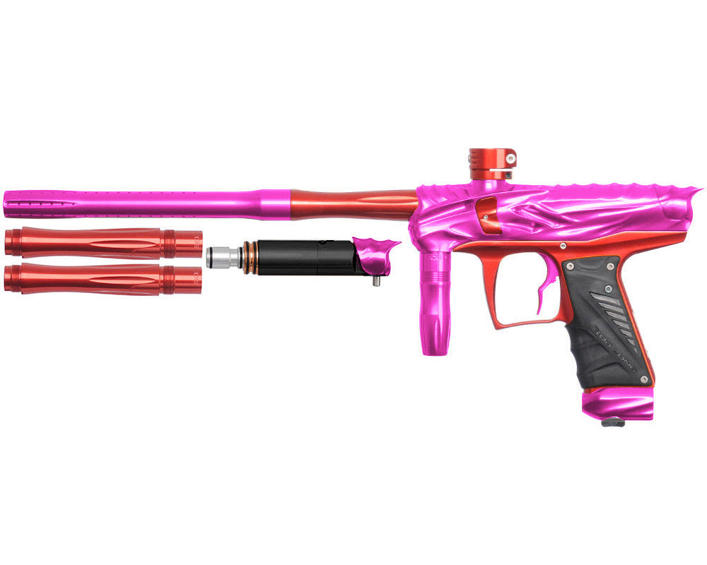 Bob Long Reptile VIS Paintball Gun - Pink/Red