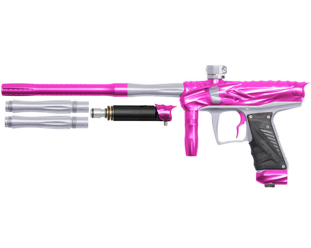 Bob Long Reptile VIS Paintball Gun - Pink/Silver