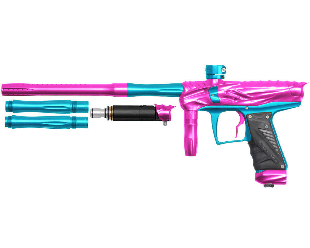 Bob Long Reptile VIS Paintball Gun - Pink/Teal