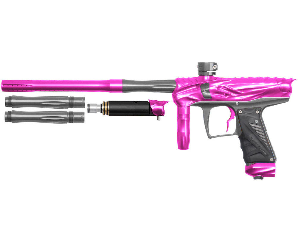 Bob Long Reptile VIS Paintball Gun - Pink/Titanium