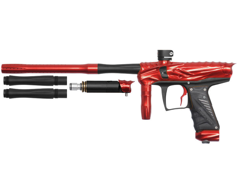 Bob Long Reptile VIS Paintball Gun - Red/Dust Black