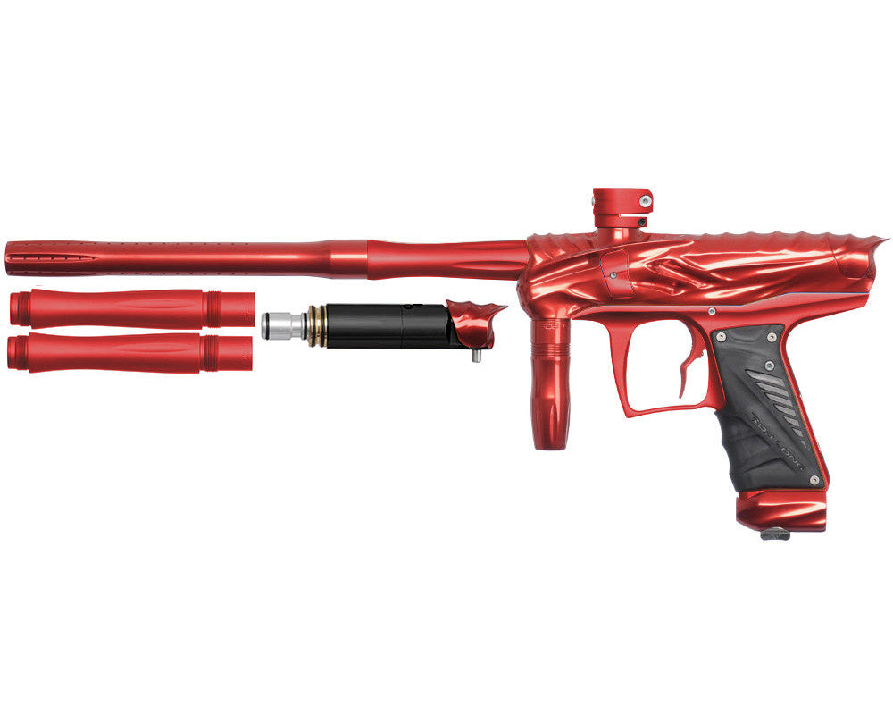 Bob Long Reptile VIS Paintball Gun - Red/Dust Red