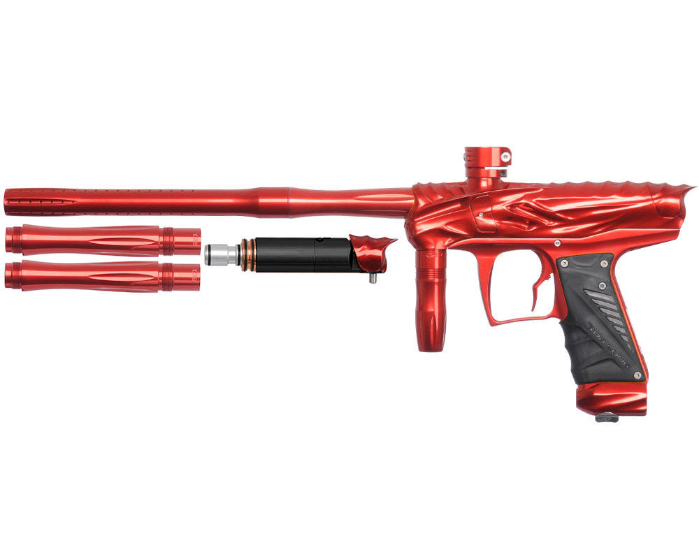 Bob Long Reptile VIS Paintball Gun - Red/Red