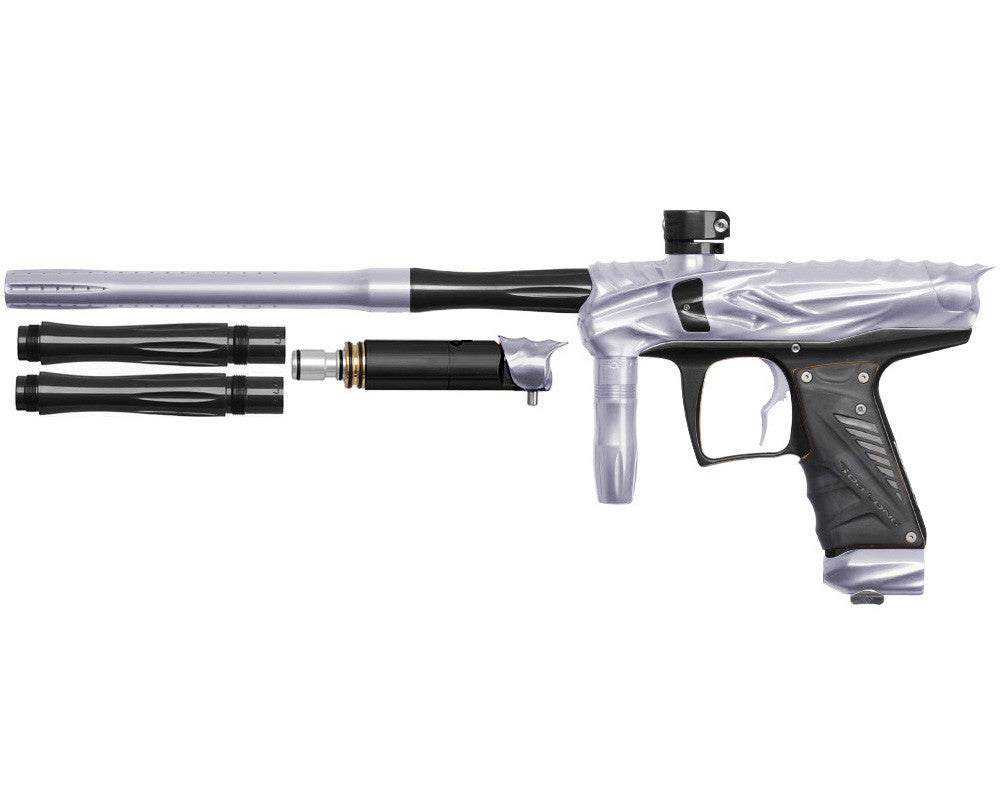 Bob Long Reptile VIS Paintball Gun - Silver/Black