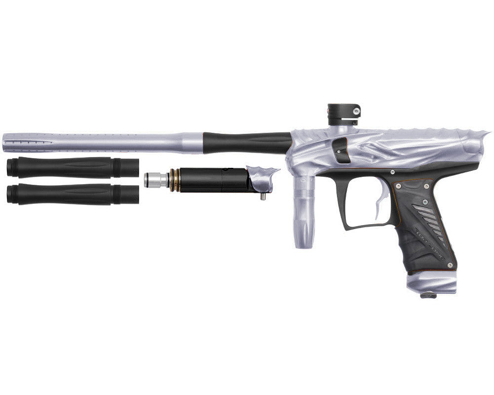 Bob Long Reptile VIS Paintball Gun - Silver/Dust Black