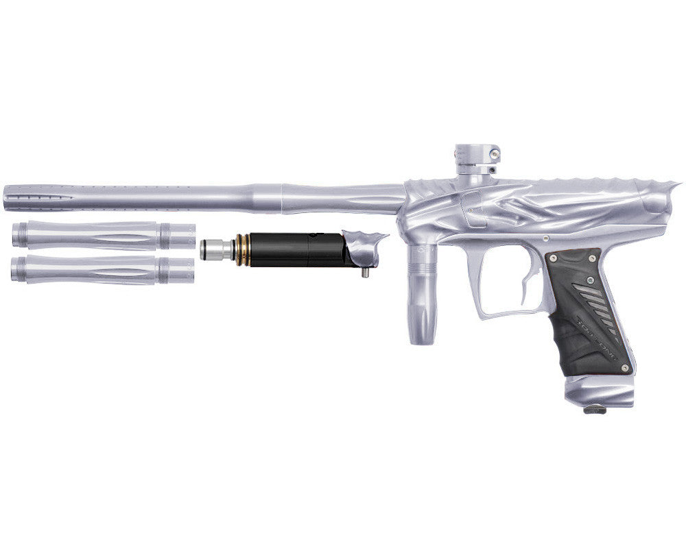 Bob Long Reptile VIS Paintball Gun - Silver/Silver