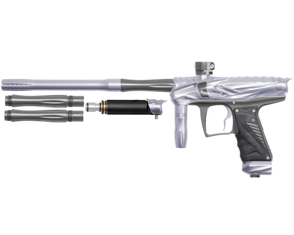 Bob Long Reptile VIS Paintball Gun - Silver/Titanium