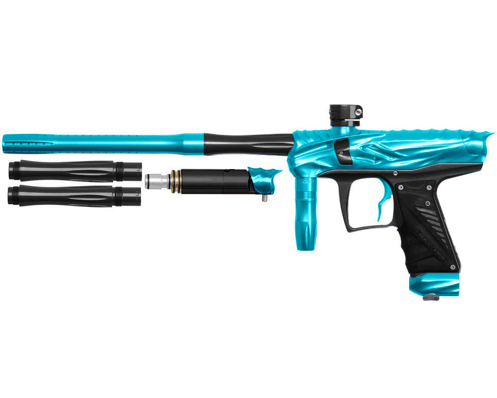 Bob Long Reptile VIS Paintball Gun - Teal/Black