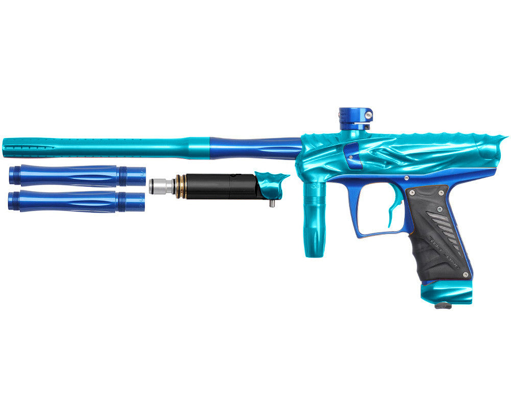 Bob Long Reptile VIS Paintball Gun - Teal/Blue
