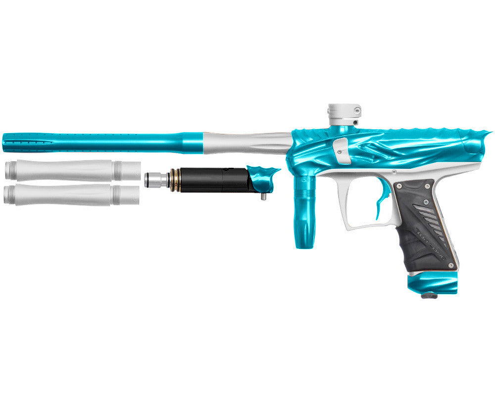 Bob Long Reptile VIS Paintball Gun - Teal/Dust White
