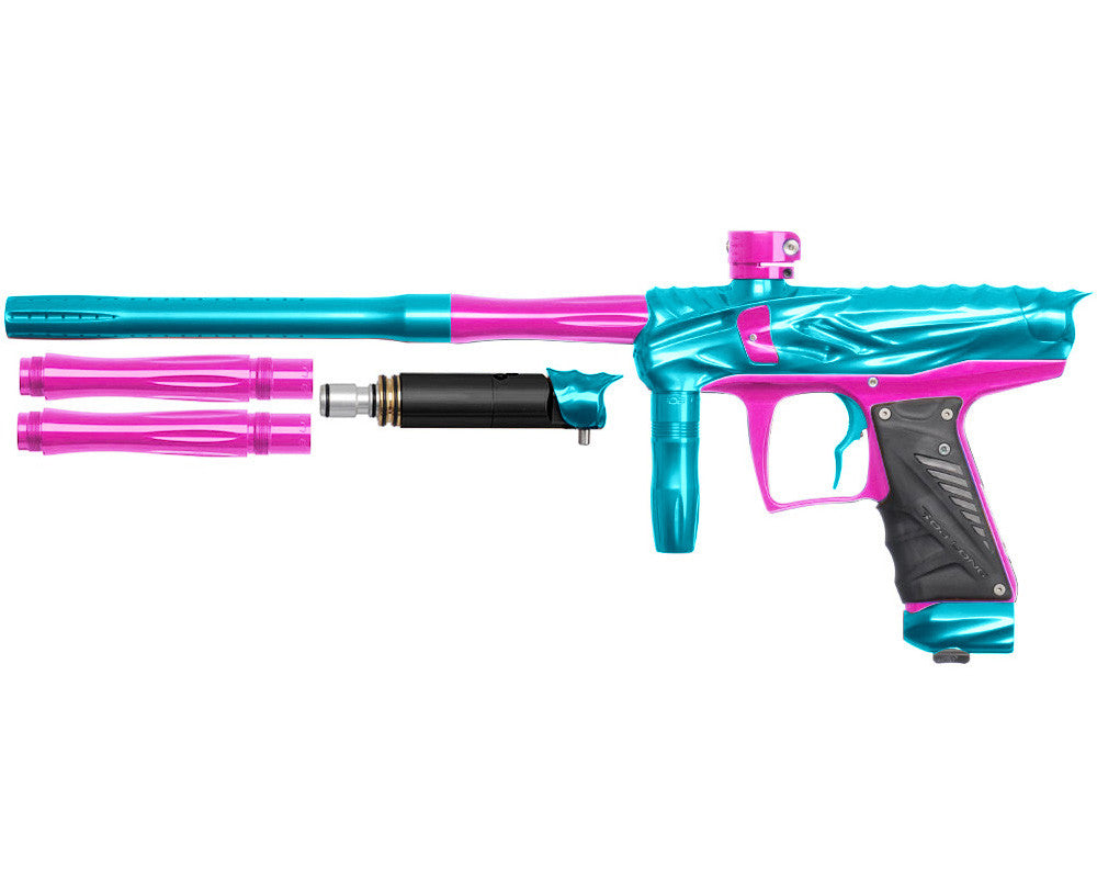 Bob Long Reptile VIS Paintball Gun - Teal/Pink