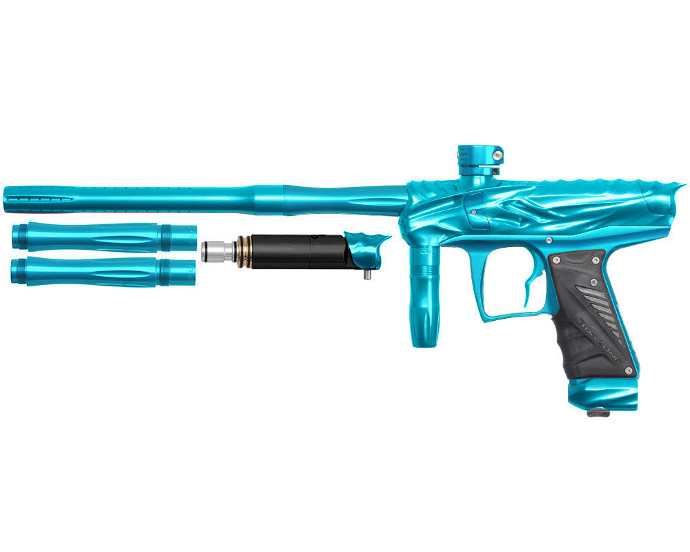 Bob Long Reptile VIS Paintball Gun - Teal/Teal