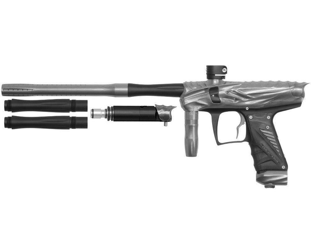 Bob Long Reptile VIS Paintball Gun - Titanium/Dust Black