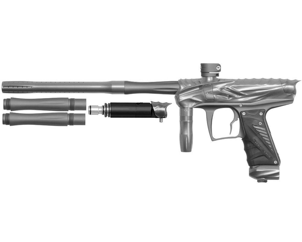 Bob Long Reptile VIS Paintball Gun - Titanium/Dust Titanium