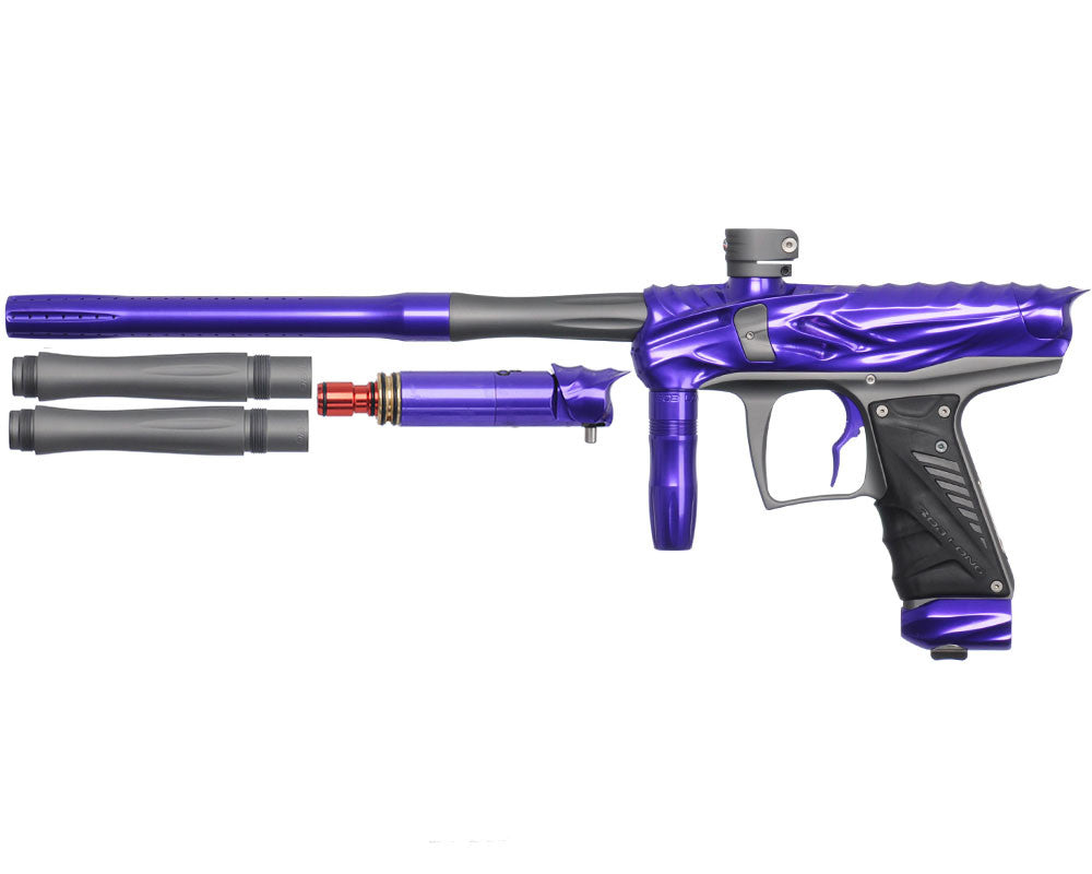 Bob Long Reptile VIS Paintball Gun - Violet/Dust Titanium