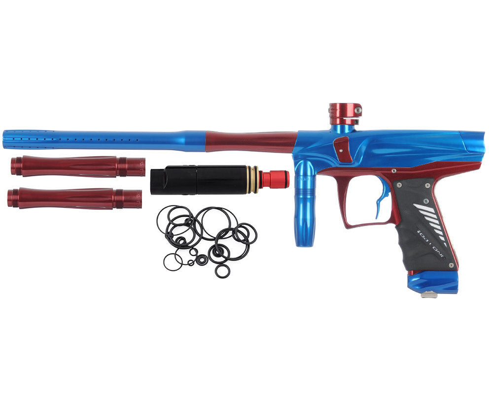 Bob Long VIS Paintball Gun - Blue/Maroon