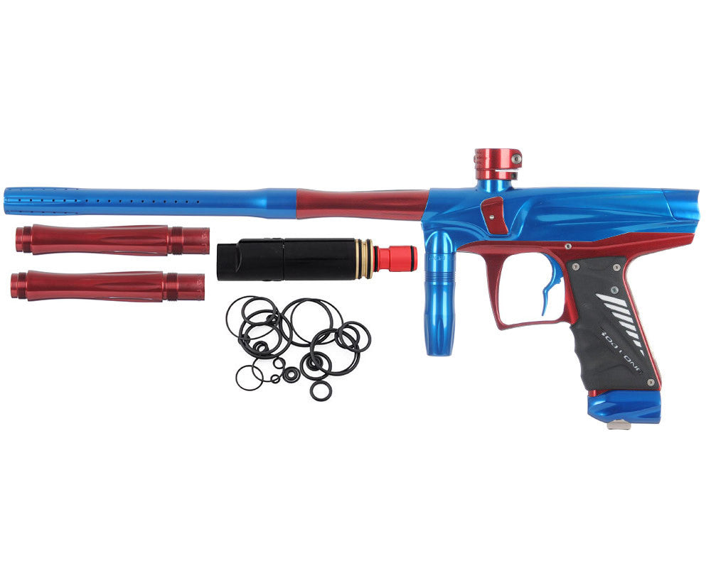 Bob Long VIS Paintball Gun - Blue/Red