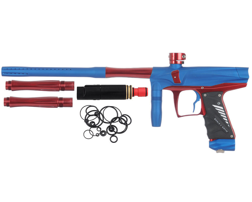 Bob Long VIS Paintball Gun - Dust Blue/Red