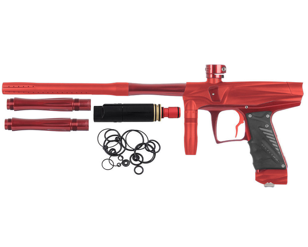 Bob Long VIS Paintball Gun - Dust Red/Red