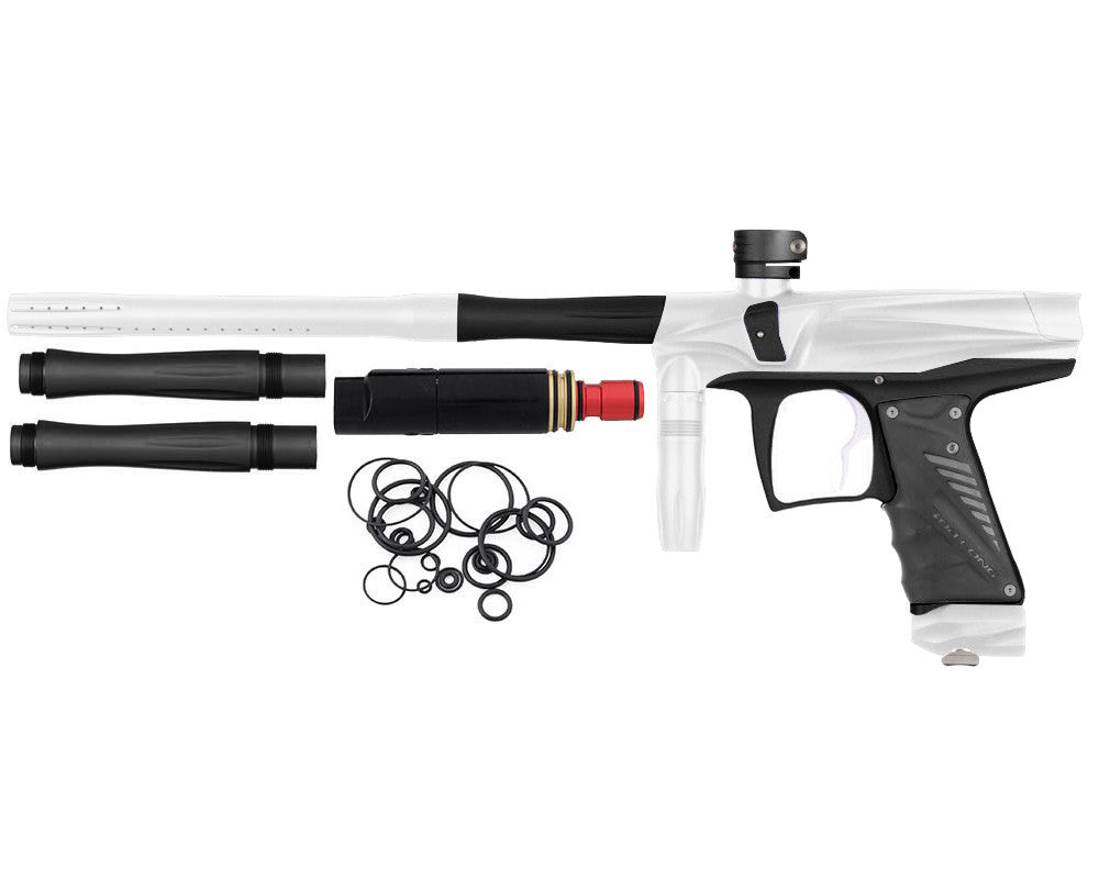 Bob Long VIS Paintball Gun - Dust White/Dust Black