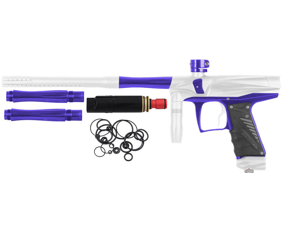 Bob Long VIS Paintball Gun - Dust White/Violet