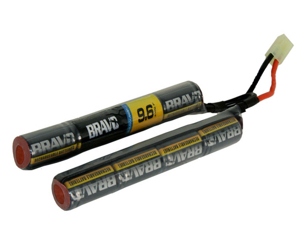 Bravo 9.6V 1600mAh NiMH High Performance Airsoft Nunchuck Stick Battery