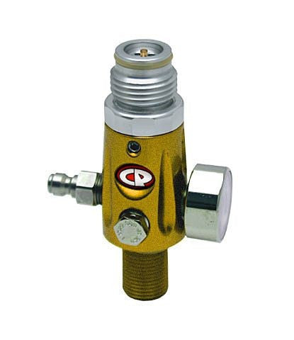 CP Compressed Air Tank Regulator - 4500 PSI - Dust Yellow