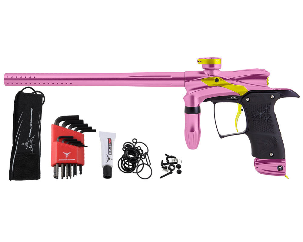 Dangerous Power G5 Paintball Gun - Pink/Yellow