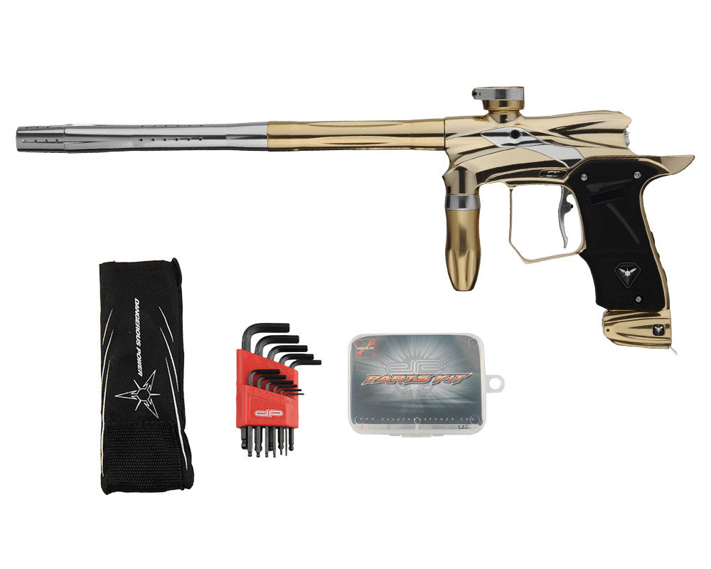 Dangerous Power G5 Spec-R Paintball Marker - Halo Gold