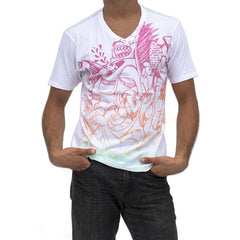 Dunkelvolk Animal T-Shirt - White - Mens T-Shirt