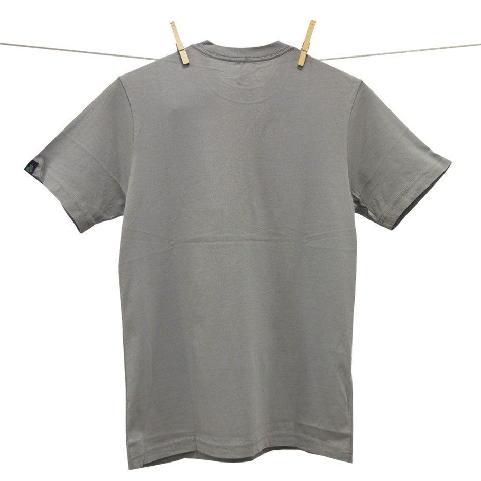 Dunkelvolk Party T-Shirt - Grey - Mens T-Shirt